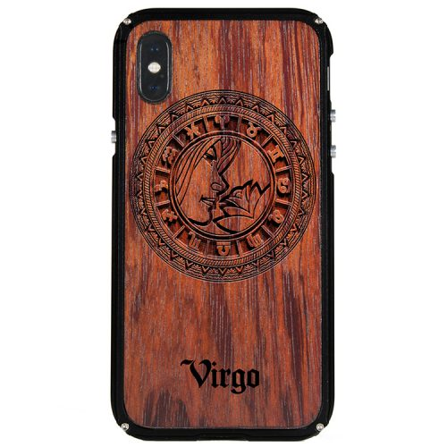 Virgo iPhone X Case Virgo Tattoo Horoscope iPhone X Cover