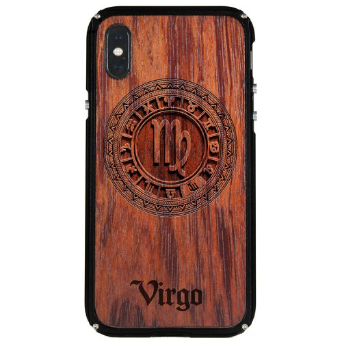 Virgo iPhone X Case Virgo Zodiac Tattoo Horoscope iPhone X Cover