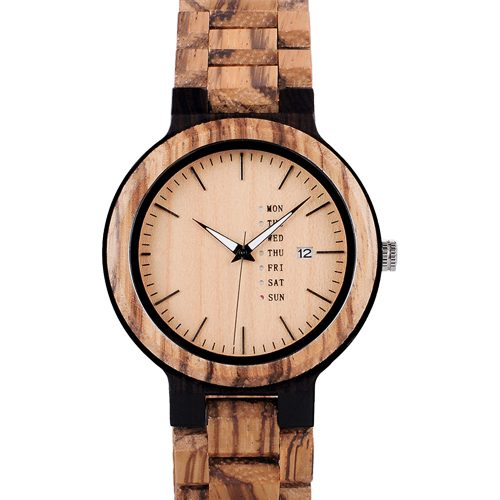 Gold Maple Wooden Watch For Men And Women Gold Sonnet Series Best Womens Wood Watch
