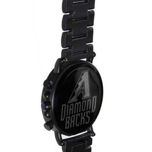 Arizona Diamondbacks Metal and Wood Watch | Mens Titanium Chronograph Watch