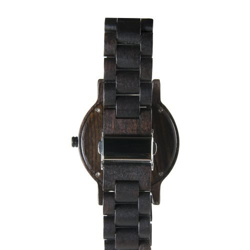 Arizona Coyotes Walnut Wooden Watch | Mens Black Watch
