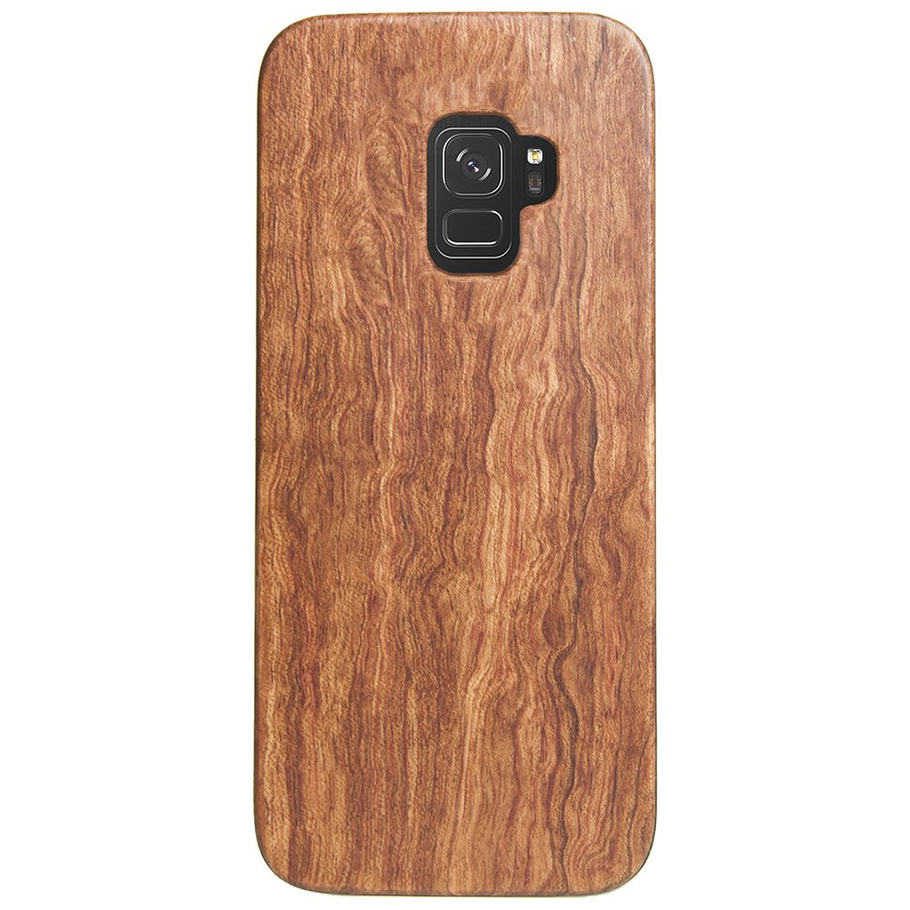 Wooden Galaxy S9 Case - Mahogany Wood Galaxy S9 Cover