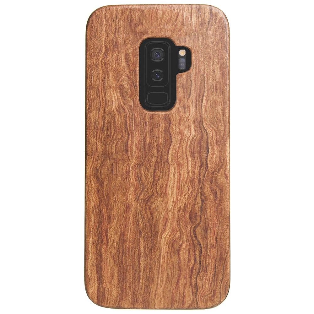 Wooden Galaxy S9 Plus Case - Mahogany Wood Galaxy S9+ Cover