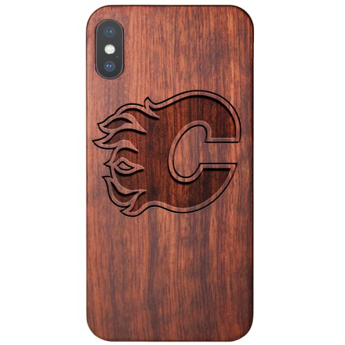 Calgary Flames iPhone XS Case