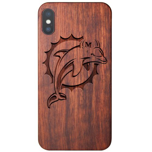 Miami Dolphins iPhone XS Case