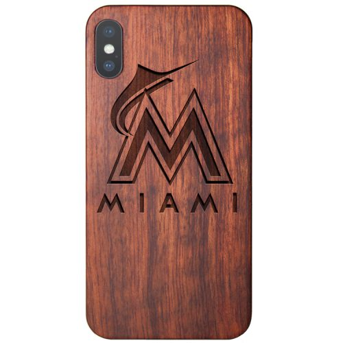 Miami Marlins iPhone XS Case