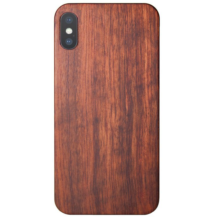 the latest 41301 721d4 Wood iPhone XS Max Case - Mahogany Wooden iPhone XS Max Cover