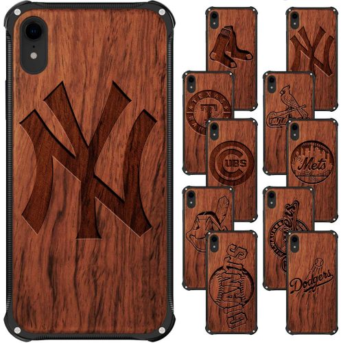 Wood MLB Baseball iPhone Cases | Gifts for MLB Baseball Fans