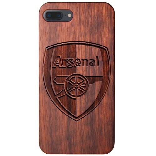 Arsenal FC iPhone 7 Plus Case - Wood iPhone 7 Plus Cover