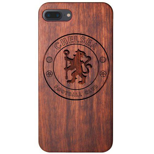Chelsea FC iPhone 7 Plus - Case Wood iPhone 7 Plus Cover