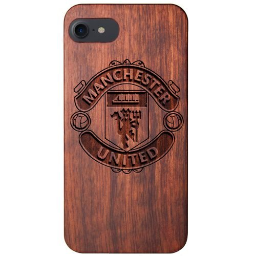 Manchester United FC iPhone 8 Case - Wood iPhone 8 Cover