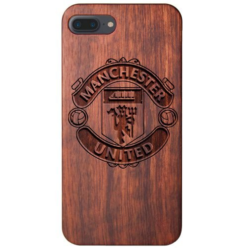 Manchester United FC iPhone 8 Plus Case - Wood iPhone 8 Plus Cover