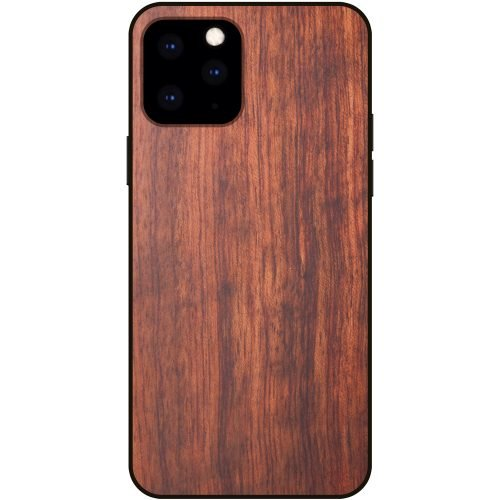 2019 Best Protective Wooden iPhone 11 Pro Max Case Mahogany Wood iPhone 11 Pro Max