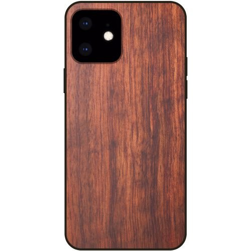Handcrafted Wood iPhone 11 Case - Mahogany Wooden iPhone 11 Cover