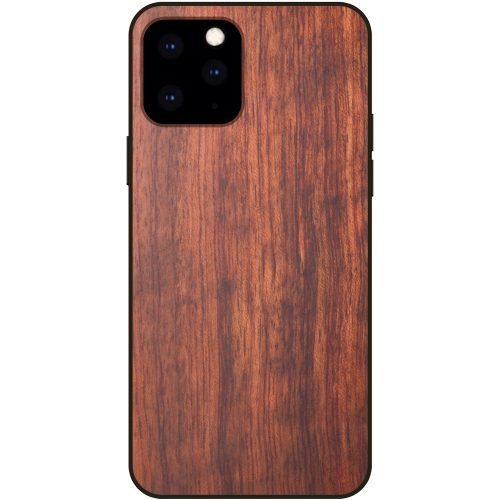 Wood iPhone 11 Pro Case - Mahogany Wooden iPhone 11 Pro Case