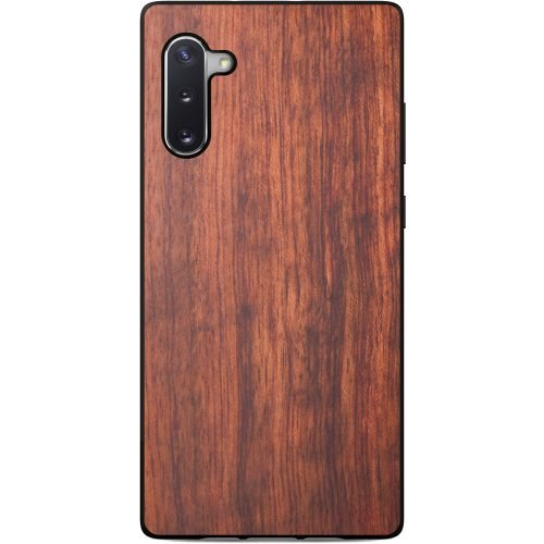 Wood Samsung Note 10 Case - Mahogany Wooden Samsung Note 10 Case