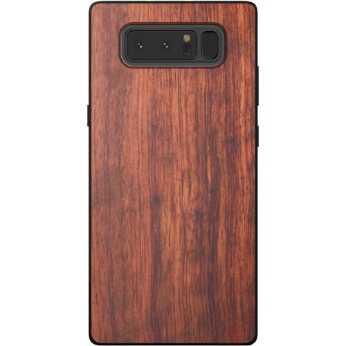 Wood Samsung Note 8 Case - Mahogany Wooden Samsung Note 8 Case
