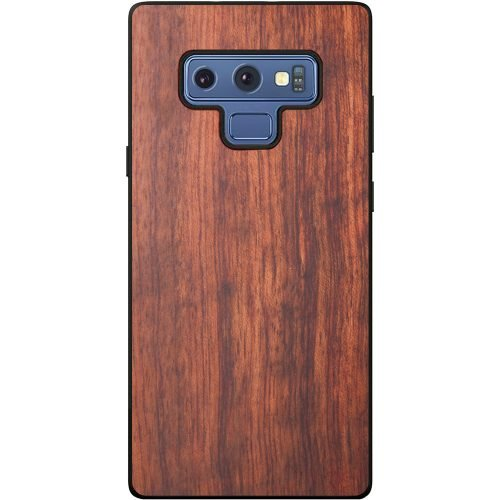 Wood Samsung Note 9 Case - Mahogany Wooden Samsung Note 9 Case