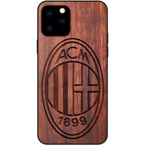 A.C. Milan iPhone 11 Pro Max Case - Wood iPhone 11 Pro Max Cover