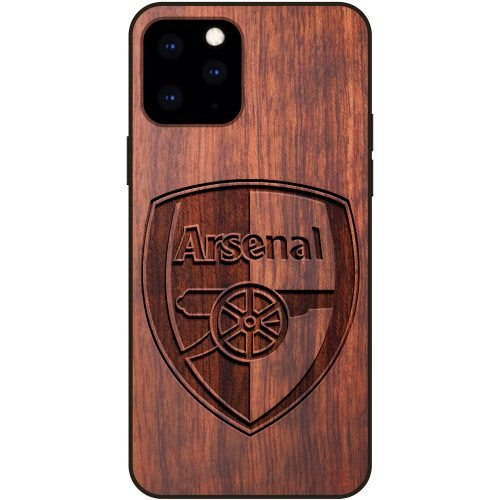 Arsenal F.C. iPhone 11 Pro Max Case - Wood iPhone 11 Pro Max Cover