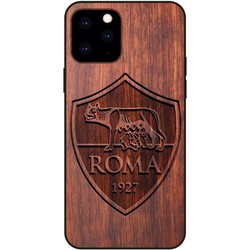 A.S. Roma iPhone 11 Pro Max Case - Wood iPhone 11 Pro Max Cover
