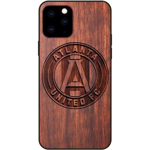 Atlanta United FC iPhone 11 Pro Max Case - Wood iPhone 11 Pro Max Cover