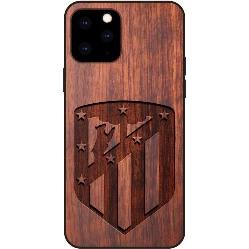 Atletico Madrid iPhone 11 Pro Max Case - Wood iPhone 11 Pro Max Cover