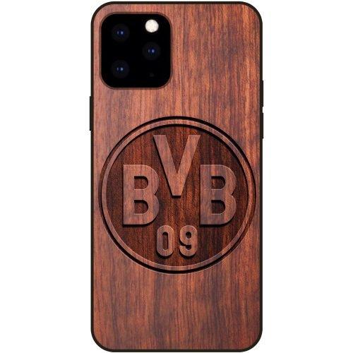 Borussia Dortmund iPhone 11 Pro Max Case - Wood iPhone 11 Pro Max Cover