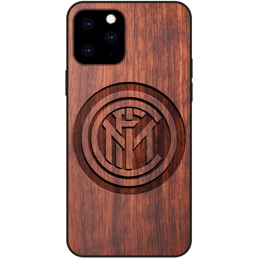Inter Milan iPhone 11 Pro Max Case - Wood iPhone 11 Pro Max Cover